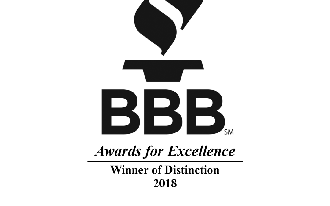 CORE Wins BBB Award for 5th Straight Year!